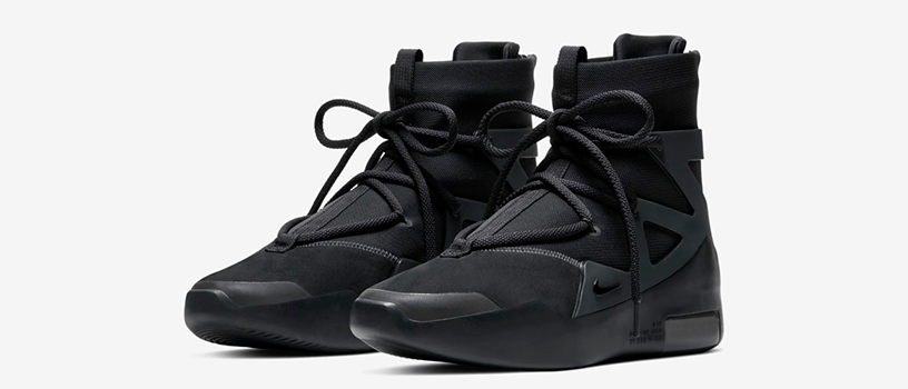"【4月25日(土)】NIKE AIR FEAR OF GOD 1 ""TRIPLE BLACK"""