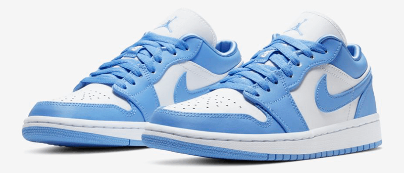 "【4月25日(土)】NIKE WMNS AIR JORDAN 1 LOW ""UNIVERSITY BLUE"""