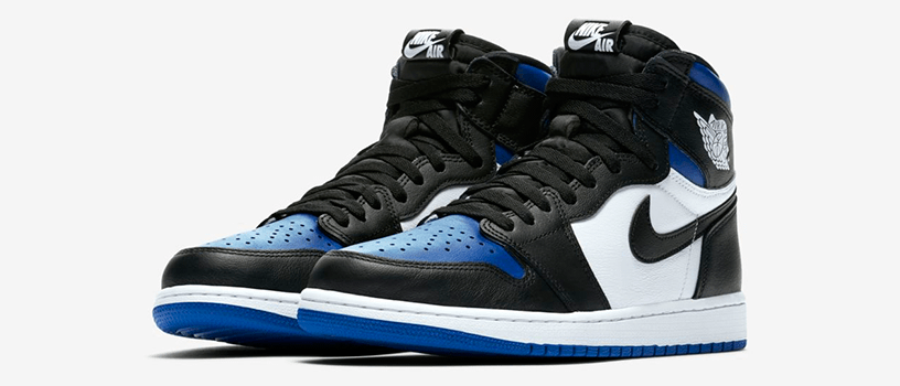 "【抽選:6月24日(水)まで】NIKE AIR JORDAN 1 RETRO HIGH OG ""ROYAL TOE"""