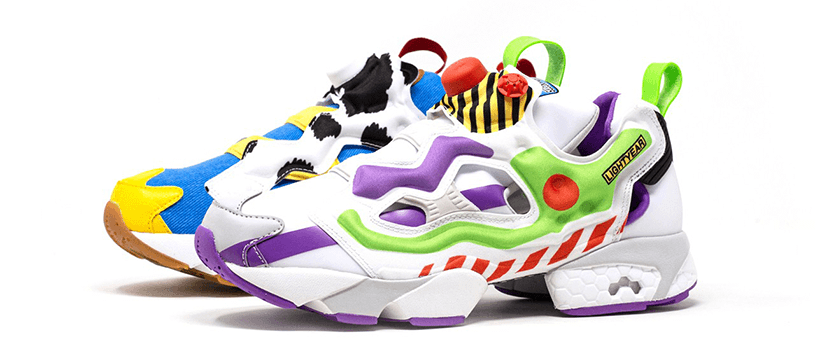 【抽選:6月15日(月)20時59分まで】BAIT × TOY STORY BUZZ & WOODY INSTAPUMP FURY
