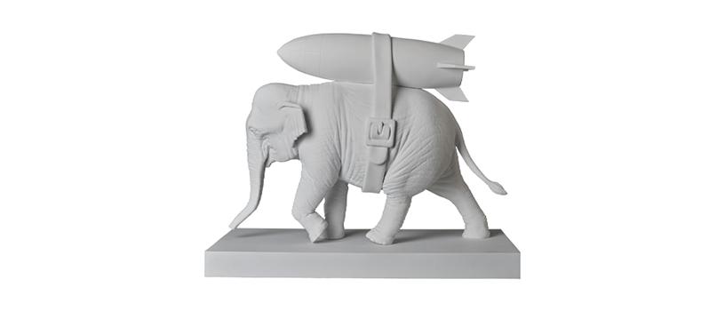 【6月27日(土)~】Elephant with Bomb