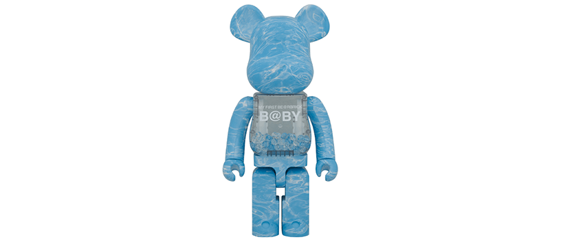 【抽選:6月28日(日)まで】MY FIRST BE@RBRICK B@BY WATER CREST Ver.