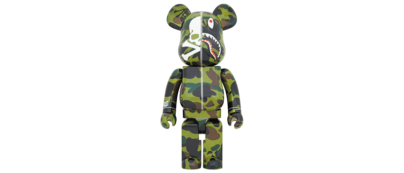 【7月18日(土)~】mastermind VS BAPE® BE@RBRICK 1000%(GREEN)