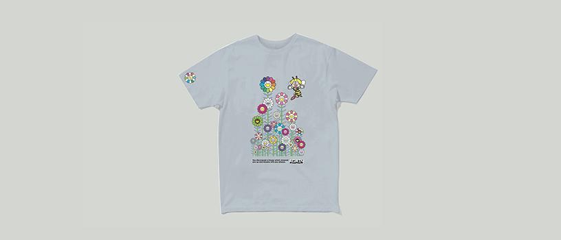 【8月14日(金)18時~】村上隆 × ゆず コラボレーションTシャツ