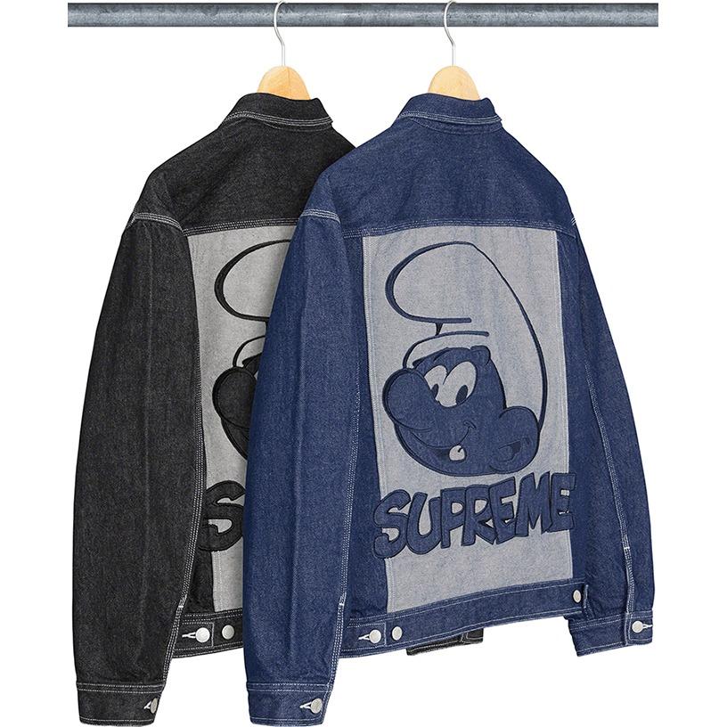 Supreme®/Smurfs™ Denim Trucker Jacket