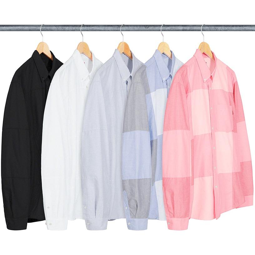 Patchwork Oxford Shirt