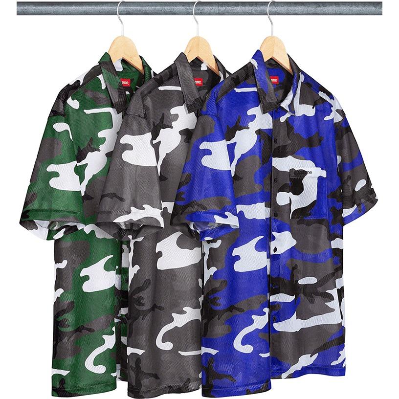 Camo Mesh S/S Shirt