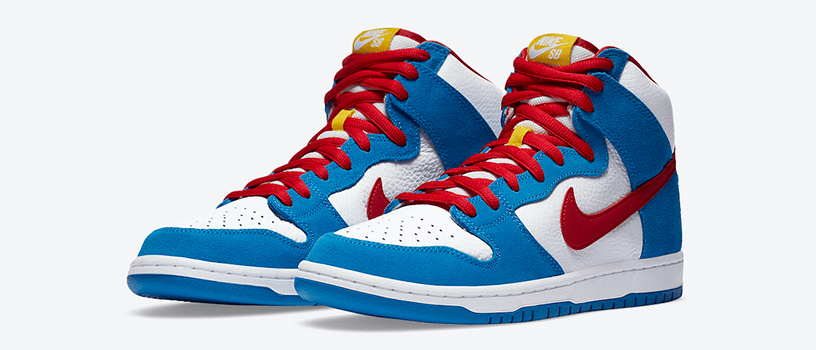 "【抽選:9月11日(金)まで】NIKE SB DUNK HIGH ""DORAEMON"""