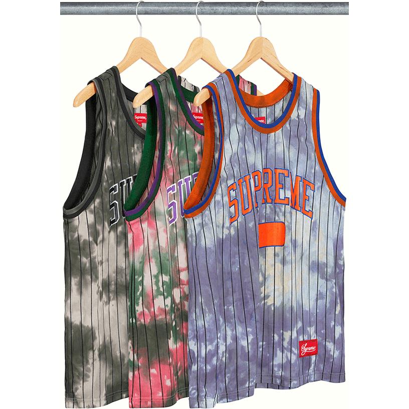 Dyed Basketball Jersey