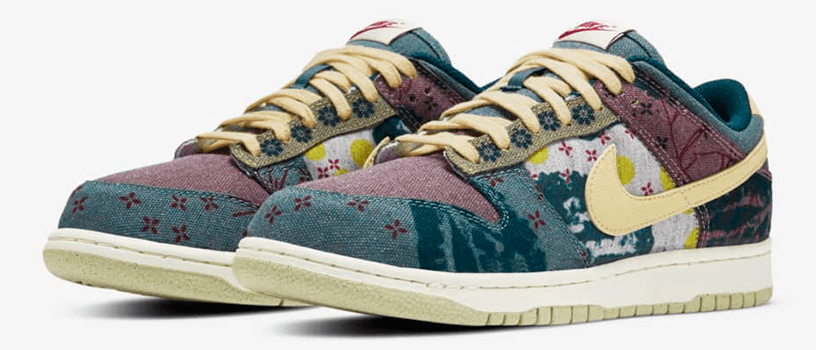 "【抽選:9月12日(土)まで】NIKE DUNK LOW ""COMMUNITY GARDEN"""