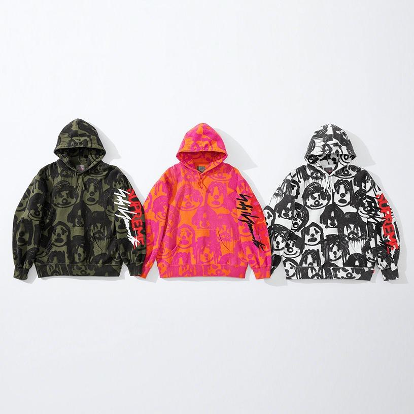 Supreme®/Yohji Yamamoto® Hooded Sweatshirt