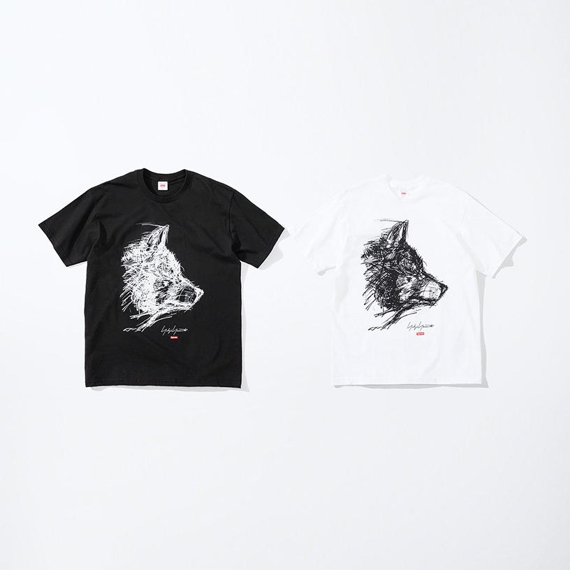 Supreme®/Yohji Yamamoto® Scribble Wolf Tee