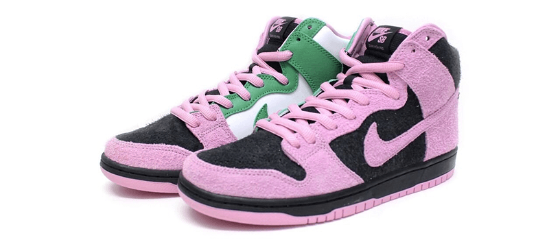 "【抽選:9月20日(日)21時まで】NIKE SB DUNK HIGH ""INVERT CELTICS"""