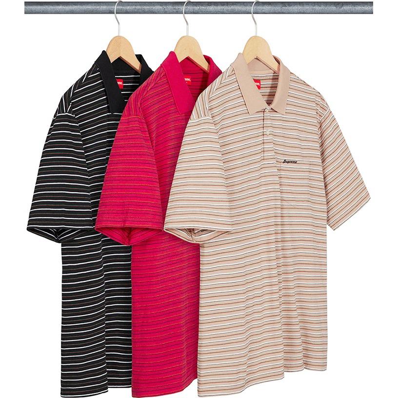 Thin Stripe Polo