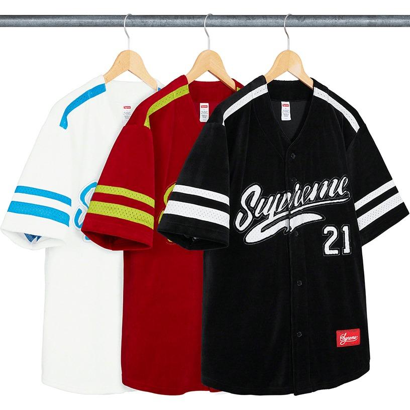 Velour Baseball Jersey