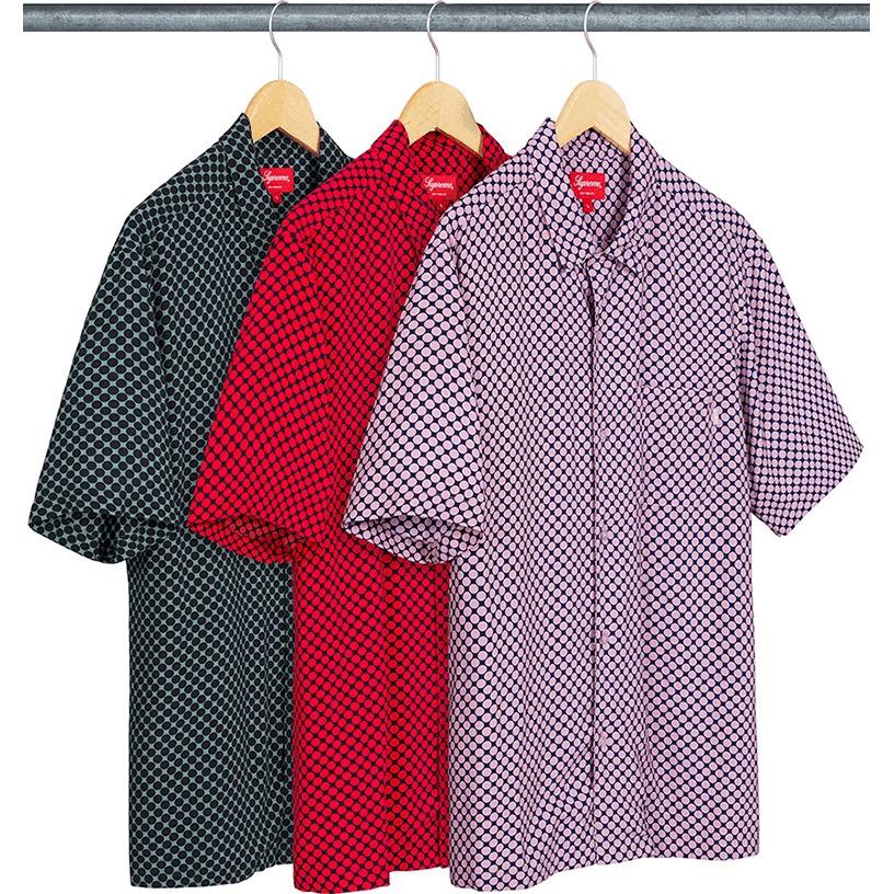 Compact Dot Rayon S/S Shirt