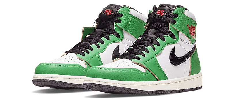 "【発売延期】NIKE WMNS AIR JORDAN 1 HIGH OG ""LUCKY GREEN"""
