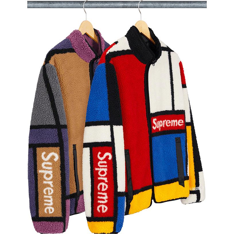 Reversible Colorblocked Fleece Jacket
