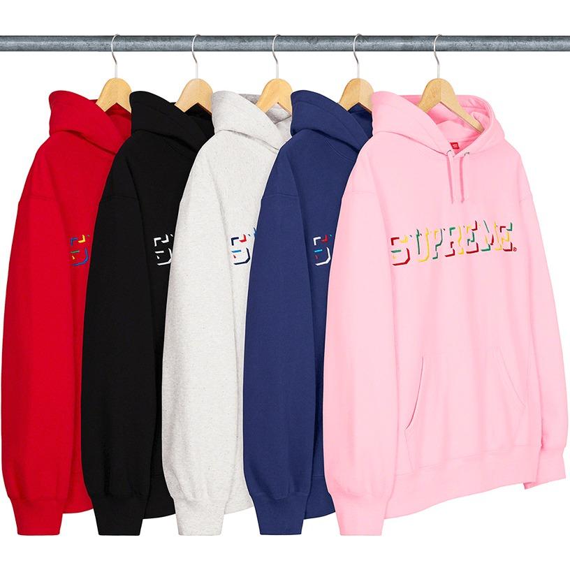 Drop Shadow Hooded Sweatshirt