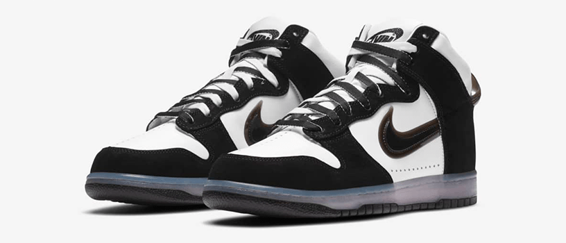 "【10月30日(金)】NIKE DUNK HIGH x SLAM JAM ""CLEAR BLACK"""