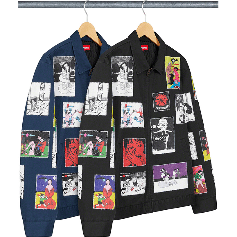 Supreme/Toshio Saeki Work Jacket
