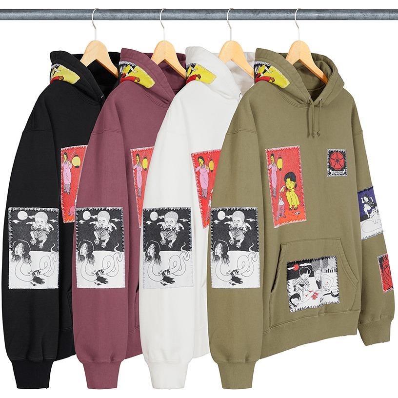 Supreme/Toshio Saeki Hooded Sweatshirt