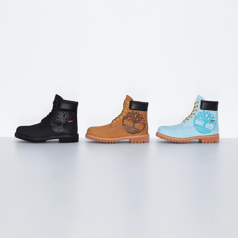 Supreme®/Timberland® Big Logo 6-Inch Premium Waterproof Boot