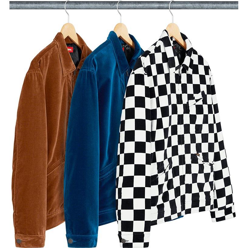 Velvet Work Jacket