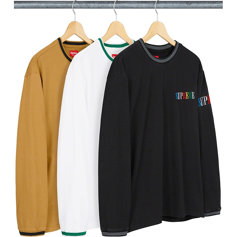 Multi Color Logo L/S Top