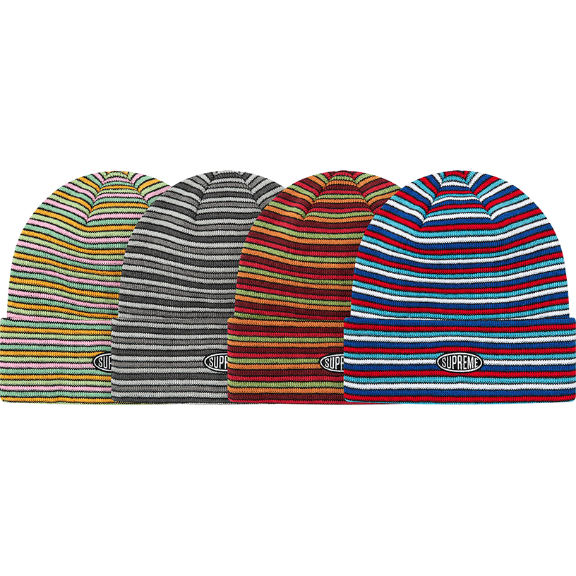 Multi Stripe Beanie