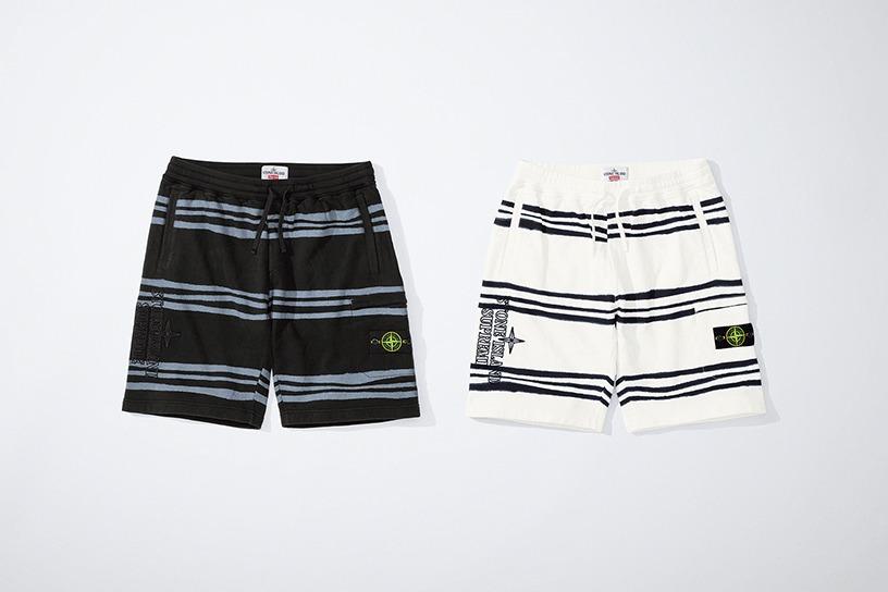 Supreme®/Stone Island® Warp Stripe Sweatshort