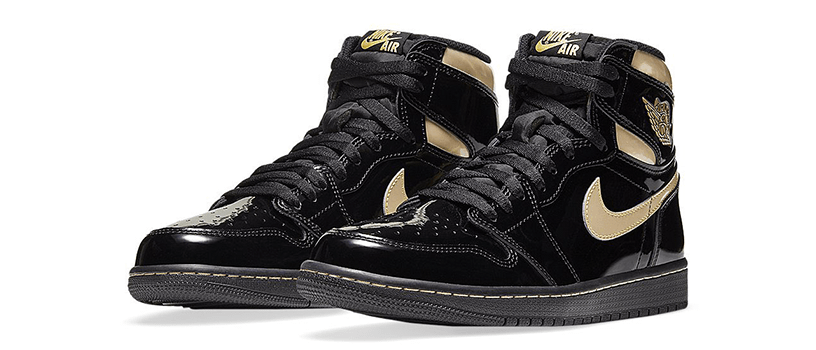 "【抽選:12月4日(金)10時~】NIKE AIR JORDAN 1 RETRO HIGH OG ""METALLIC GOLD"""