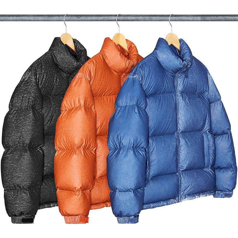 Reflective Speckled Down Jacket