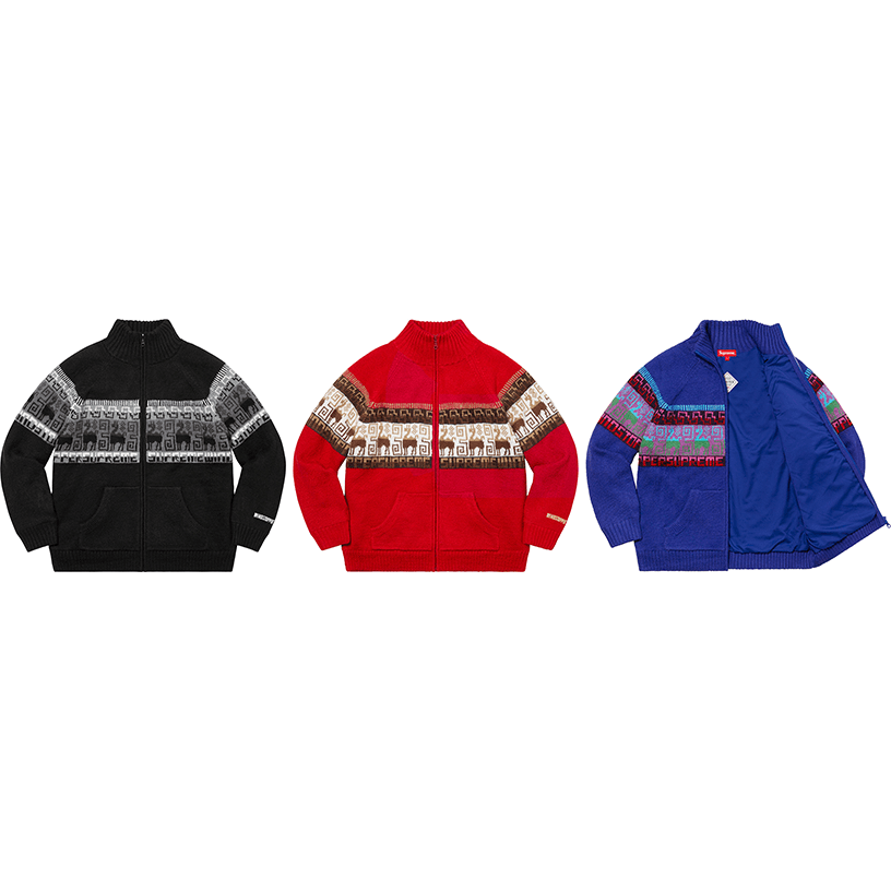 Chullo WINDSTOPPER® Zip Up Sweater