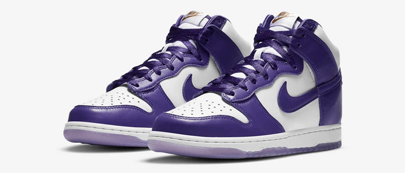 "【抽選:12月18日(金)まで】NIKE WMNS DUNK HIGH SP ""VARSITY PURPLE"""