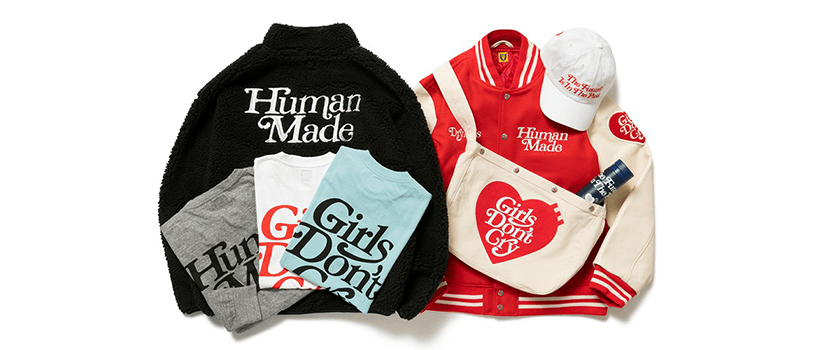 【11月27日(金)19時~】HUMAN MADE × Girls Don't Cry