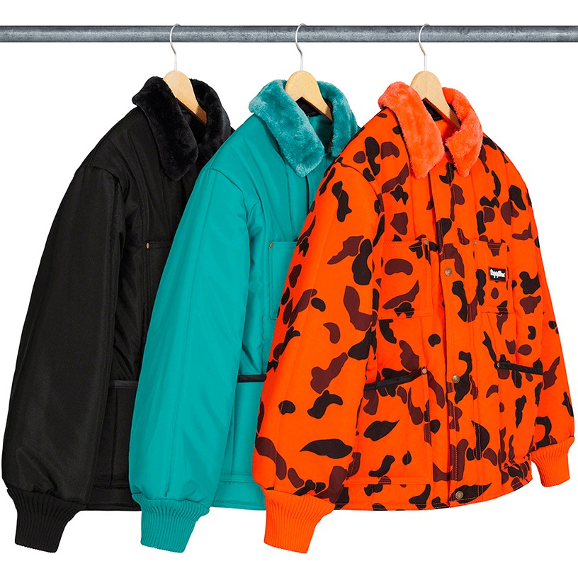 Supreme®/RefrigiWear® Insulated Iron-Tuff Jacket