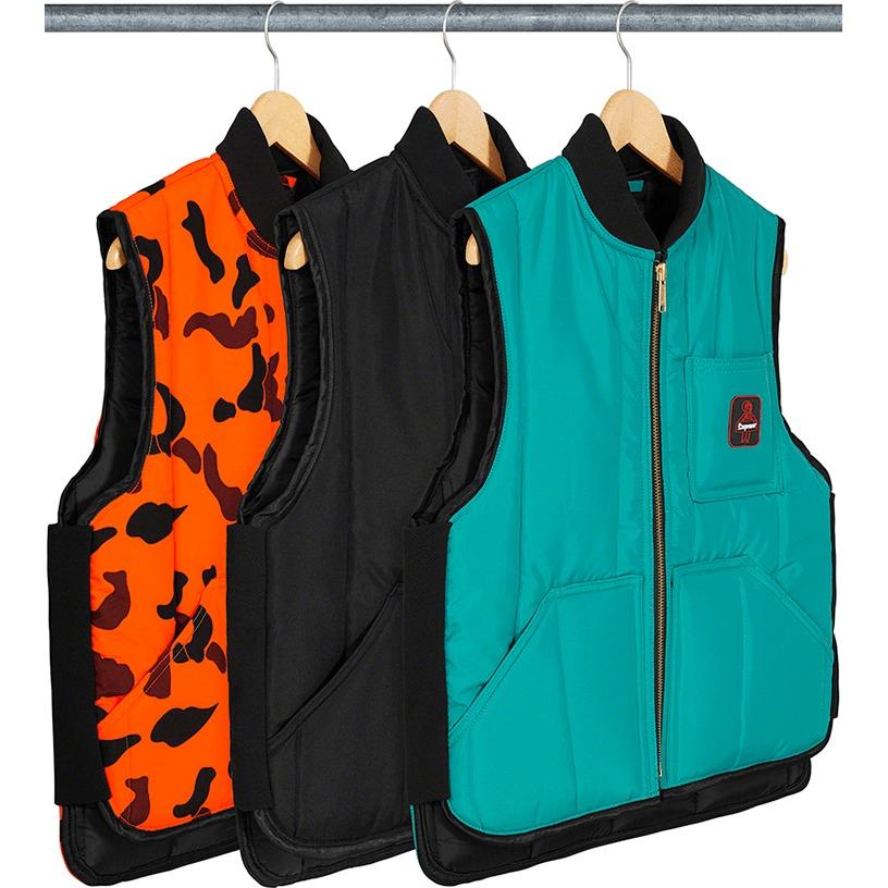 Supreme®/RefrigiWear® Insulated Iron-Tuff Vest