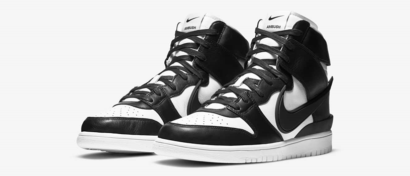 "【12月11日(金)】NIKE DUNK HIGH x AMBUSH ""BLACK"""