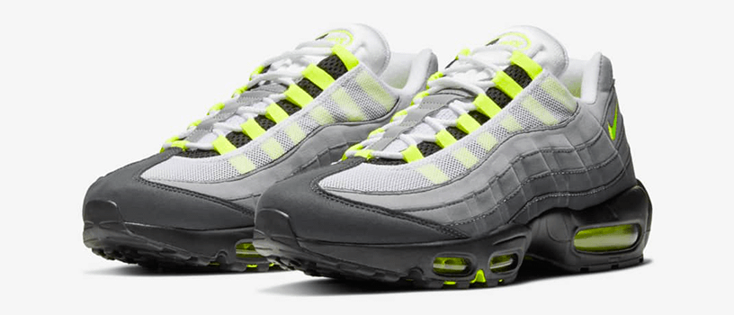 "【抽選:2月24日(水)まで】NIKE AIR MAX 95 OG ""NEON YELLOW"""