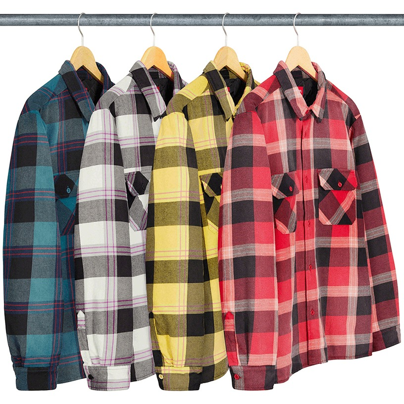 Quilted Flannel Shirt