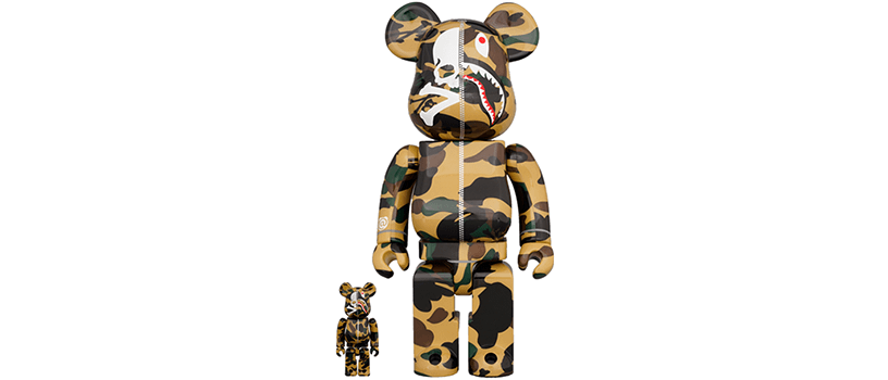 【12月19日(土)】MASTERMIND VS BAPE®️ BE@RBRICK 100% & 400%(YELLOW)
