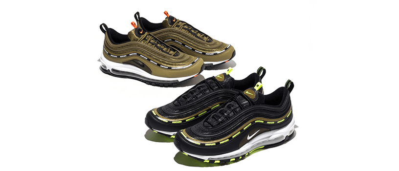 【12月29日(火)】NIKE AIR MAX 97 x UNDEFEATED(2020)