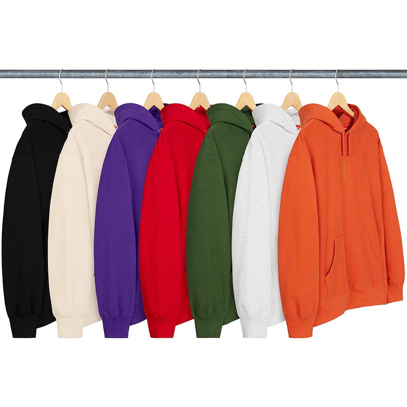 Micro Logo Hooded Sweatshirt