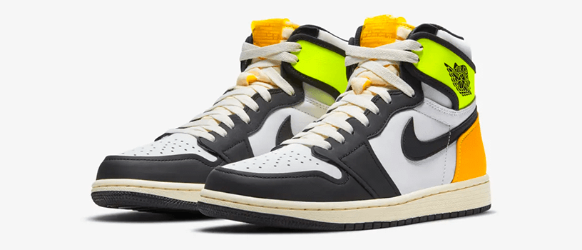 "【抽選:2021年1月18日(月)まで】NIKE AIR JORDAN 1 RETRO HIGH OG ""VOLT GOLD"""