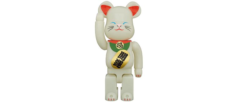 【2021年1月23日(土)~】BE@RBRICK 招き猫 蓄光 弐
