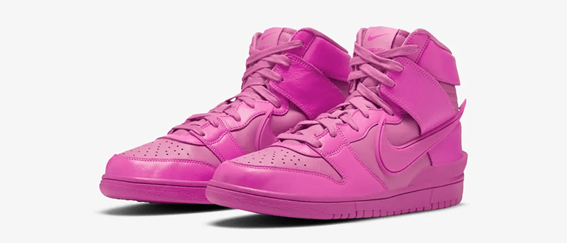 "【2月4日(木)】NIKE DUNK HIGH x AMBUSH ""COSMIC FUCHSIA"""
