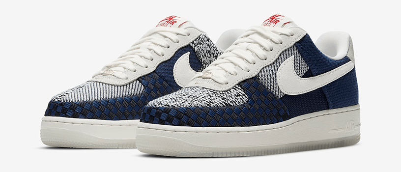 "【2月25日(木)12時~】NIKE WMNS AIR FORCE 1 '07 LV8 ""SASHIKO"""