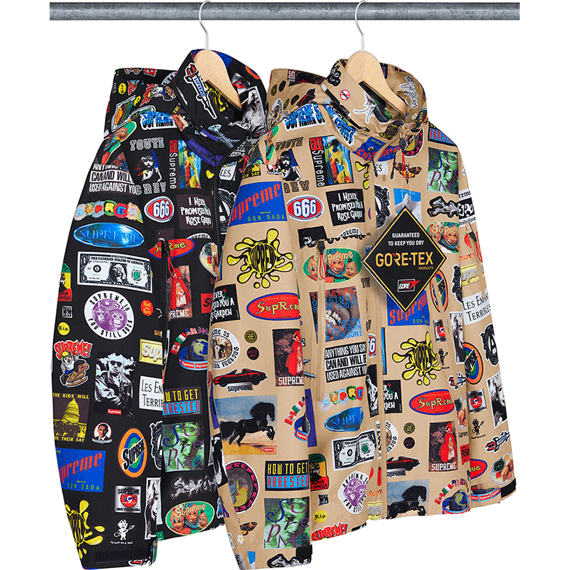 GORE-TEX Stickers Shell Jacket