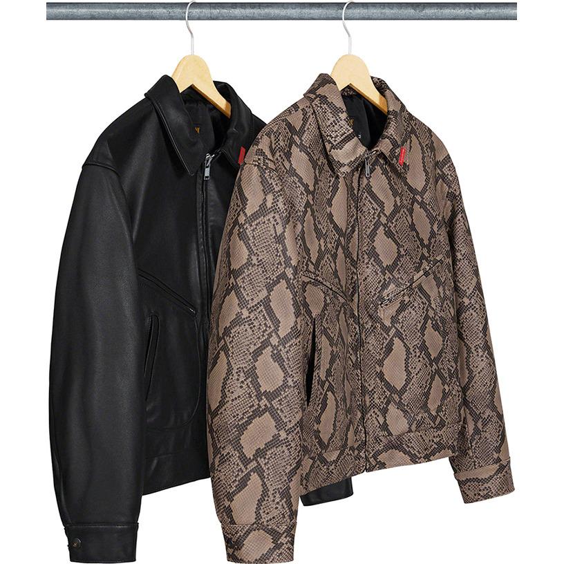 Supreme®/Schott® Leather Work Jacket